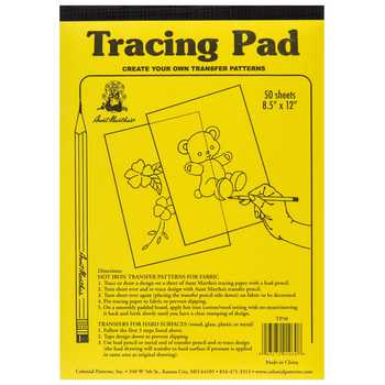 Transfer Tracing Paper Pad